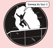 Yippee Ki Yay - with speech bubble One Piece - Short Sleeve