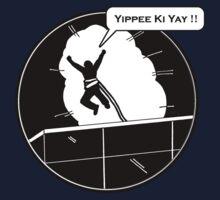 Yippee Ki Yay - with speech bubble Kids Tee