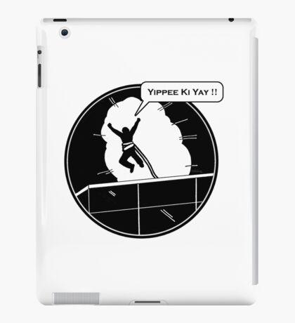 Yippee Ki Yay - with speech bubble iPad Case/Skin