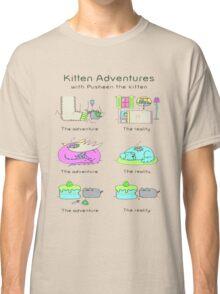 pussies adventure Classic T-Shirt