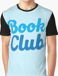 BOOK CLUB (in blue) Graphic T-Shirt