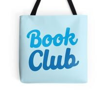 BOOK CLUB (in blue) Tote Bag