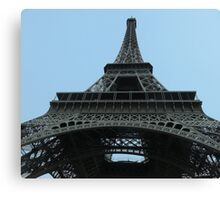 From under the Eiffel Tower Canvas Print