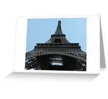 From under the Eiffel Tower Greeting Card