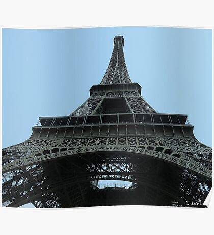 From under the Eiffel Tower Poster