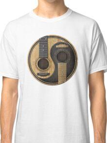 Acoustic guitars yin yang Classic T-Shirt