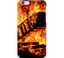 Set fire to a house iPhone Case/Skin
