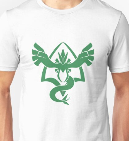 Lugia Pokemon Go Team Harmony Unisex T-Shirt