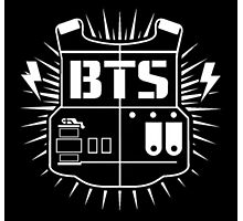 BTS ARMY Logo Print Photographic Print