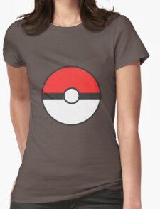 Pokemon Ball Womens Fitted T-Shirt
