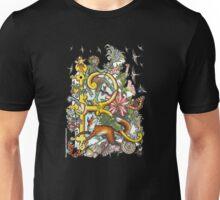 "MYSTICMATRIX The Illustrated Alphabet Capital  R  ""Getting personal""  Unisex T-Shirt"