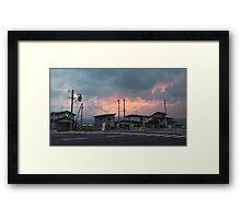 TOHOKU 4 Framed Print