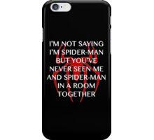 I'm Spider-man iPhone Case/Skin