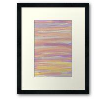 Sun Sea and Sand 1 Framed Print