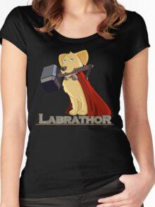 Labrathor Women's Fitted Scoop T-Shirt