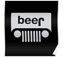 Jeep - Beer Poster