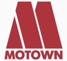 MOTOWN DISCO RECORDS (RED) Kids Tee