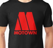 MOTOWN DISCO RECORDS (RED) Unisex T-Shirt