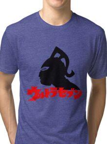 ULTRA SEVEN ULTRAMAN 7 JAPAN SUPERHERO Tri-blend T-Shirt