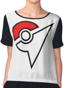 Pokemon Symbol Chiffon Top