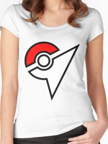 Pokemon Symbol Women's Fitted Scoop T-Shirt