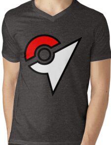 Pokemon Symbol Mens V-Neck T-Shirt