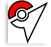 Pokemon Symbol Canvas Print