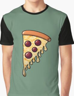 You Slice!...off Pizza - Loam Graphic T-Shirt
