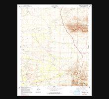 USGS TOPO Map Arizona AZ Tombstone SE 313765 1952 24000 Unisex T-Shirt