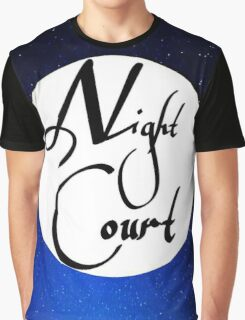 Night Court Graphic T-Shirt