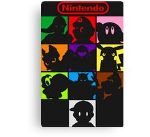 I'm a Nintendo Fan Canvas Print