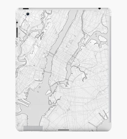 New York City sketch map iPad Case/Skin