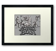 ALTERED BEAST - SEGA ARCADE (2) Framed Print