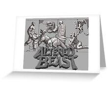 ALTERED BEAST - SEGA ARCADE (2) Greeting Card