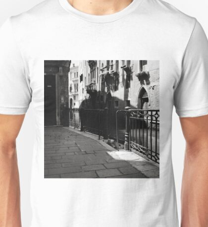 The Silent Corner of the Empty Stage Unisex T-Shirt