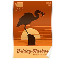Friday Harbor.  Poster