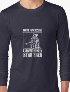 R2D2 Star Trek Long Sleeve T-Shirt