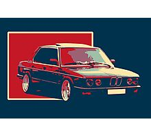 Classic Bimmer-Bmw ART Photographic Print