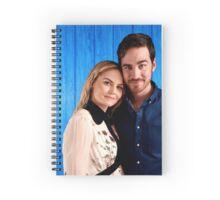 Jennifer Morrison & Colin O'donoghue Spiral Notebook
