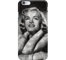 Lizabeth Scott Hollywood Actress iPhone Case/Skin