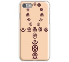 Andinkra Ankh iPhone Case/Skin