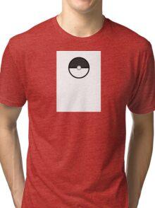 Monster Capture Device (Black) Tri-blend T-Shirt