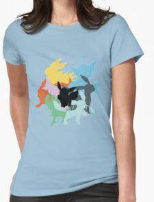 eevee evo Womens Fitted T-Shirt