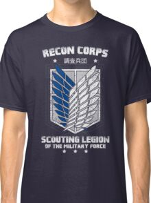 RECON CORPS. - Attack on Titans Classic T-Shirt