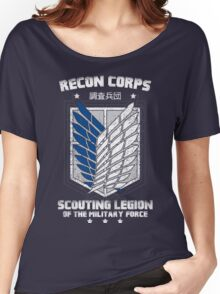 RECON CORPS. - Attack on Titans Women's Relaxed Fit T-Shirt