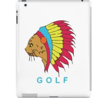 Golf Wang Native Cat iPad Case/Skin