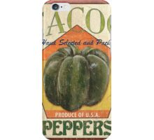 Americana Vegetables 1 iPhone Case/Skin
