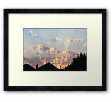SkyFire2 Framed Print