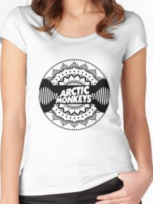 The Arctic Monkeys - Music Group Women's Fitted Scoop T-Shirt