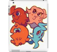 Cutie Pac-Man Ghosts iPad Case/Skin